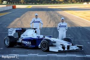 BMW Sauber Heidfeld a Kubica