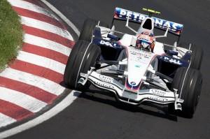 Robert Kubica a BMW Sauber